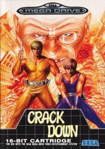 Crack Down per Sega Mega Drive