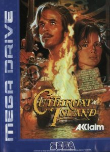 Cutthroat Island per Sega Mega Drive
