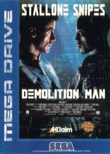 Demolition Man per Sega Mega Drive