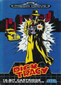 Dick Tracy per Sega Mega Drive