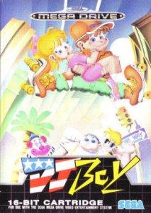 DJ Boy per Sega Mega Drive