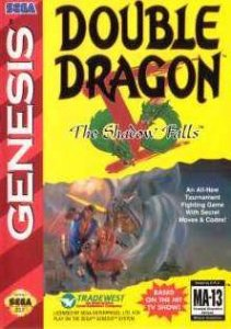 Double Dragon V: The Shadow Falls per Sega Mega Drive