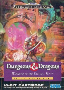 Dungeons and Dragons: Warriors of the Eternal Sun per Sega Mega Drive