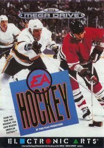 EA Hockey per Sega Mega Drive