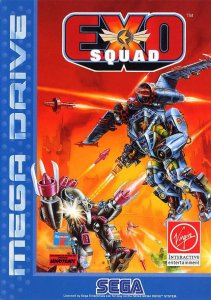 ExoSquad per Sega Mega Drive