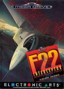 F-22 Interceptor per Sega Mega Drive
