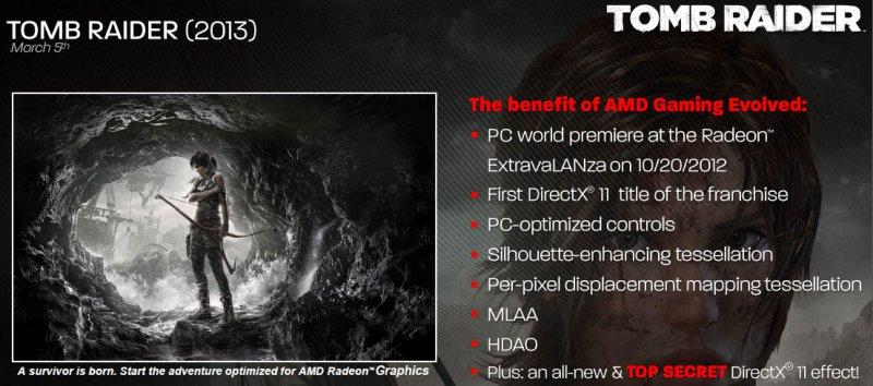 Tomb Raider - Alcune feature della versione PC svelate da AMD