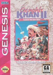 Genghis Khan II: Clan of the Gray Wolf per Sega Mega Drive