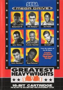 Greatest Heavyweights per Sega Mega Drive