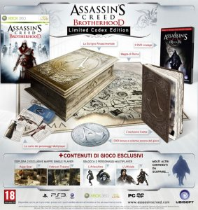 Assassin's Creed Brotherhood per Xbox 360