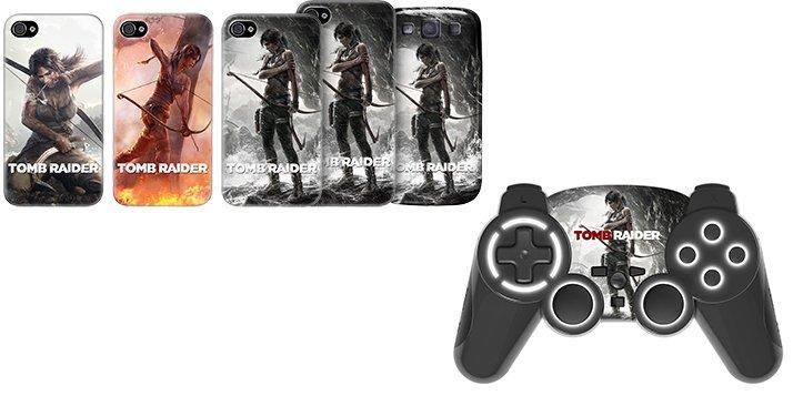 Tomb Raider - Bigben presenta il pad per PS3 e le cover per smartphone