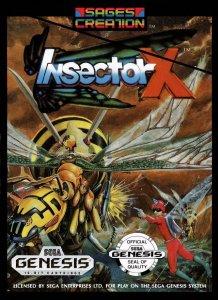 Insector X per Sega Mega Drive