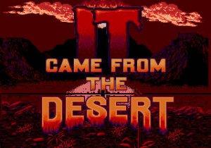 It Came From the Desert per Sega Mega Drive