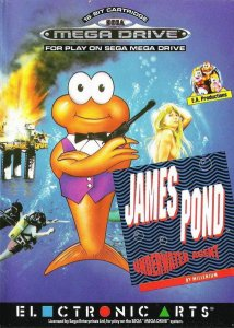 James Pond: Underwater Agent per Sega Mega Drive