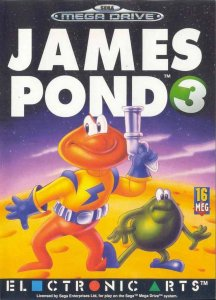 James Pond 3: Operation Starfish per Sega Mega Drive