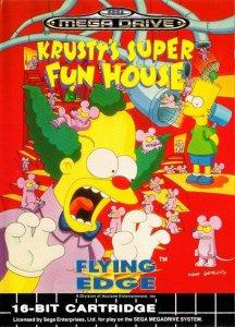 Krusty's Super Fun House per Sega Mega Drive