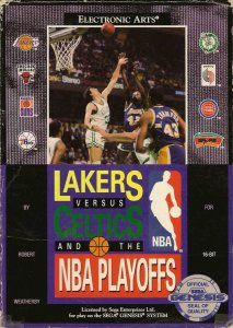 Lakers versus Celtics and the NBA Playoffs per Sega Mega Drive