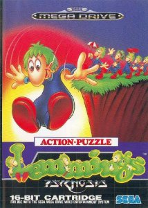 Lemmings per Sega Mega Drive