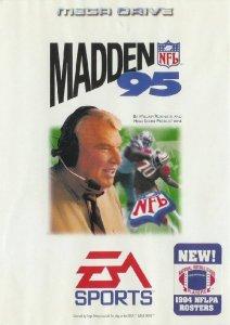 Madden NFL 95 per Sega Mega Drive
