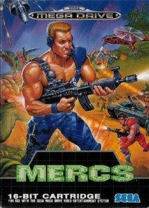 Mercs per Sega Mega Drive