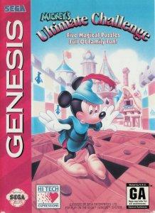 Mickey's Ultimate Challenge per Sega Mega Drive