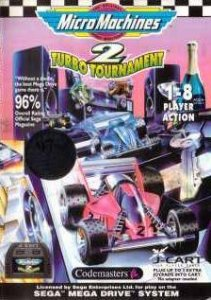 Micro Machines 2: Turbo Tournament per Sega Mega Drive
