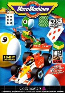 MicroMachines per Sega Mega Drive