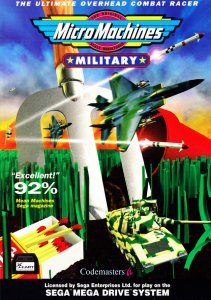 Micro Machines Military per Sega Mega Drive