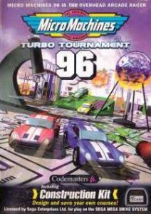 Micro Machines Turbo Tournament '96 per Sega Mega Drive