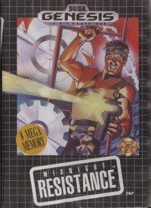 Midnight Resistance per Sega Mega Drive