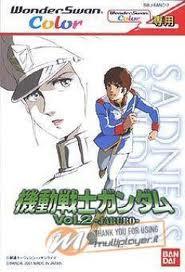 Kidou Senshi Gundam Vol. 2 Jaburo per WonderSwan Color