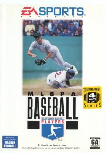 MLBPA Baseball per Sega Mega Drive