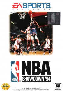 NBA Showdown per Sega Mega Drive