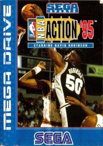 NBA Action '95 Starring David Robinson per Sega Mega Drive