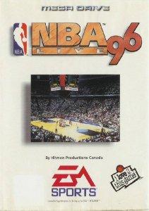 NBA Live '96 per Sega Mega Drive