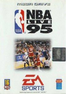 NBA Live '95 per Sega Mega Drive