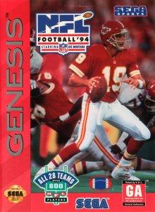 NFL Football '94 Starring Joe Montana per Sega Mega Drive