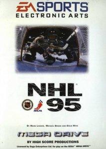 NHL '95 per Sega Mega Drive