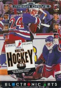 NHLPA Hockey 93 per Sega Mega Drive