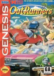 OutRunners per Sega Mega Drive