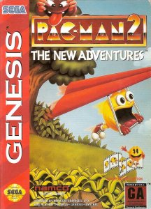 Pac-Man 2: The New Adventures per Sega Mega Drive
