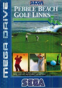 Pebble Beach Golf Links per Sega Mega Drive