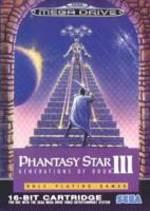 Phantasy Star III per Sega Mega Drive