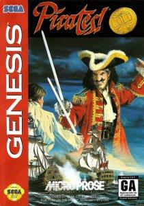 Pirates! Gold per Sega Mega Drive