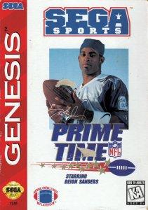 Prime Time NFL Starring Deion Sanders per Sega Mega Drive