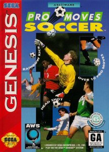 Pro Moves Soccer per Sega Mega Drive