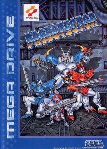 Probotector per Sega Mega Drive