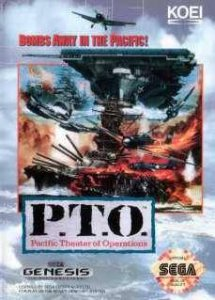 P.T.O.: Pacific Theater of Operations per Sega Mega Drive