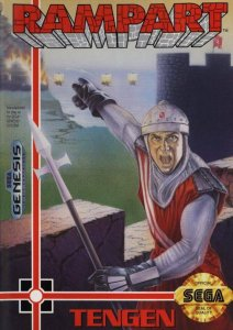 Rampart per Sega Mega Drive