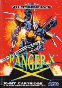 Ranger X per Sega Mega Drive